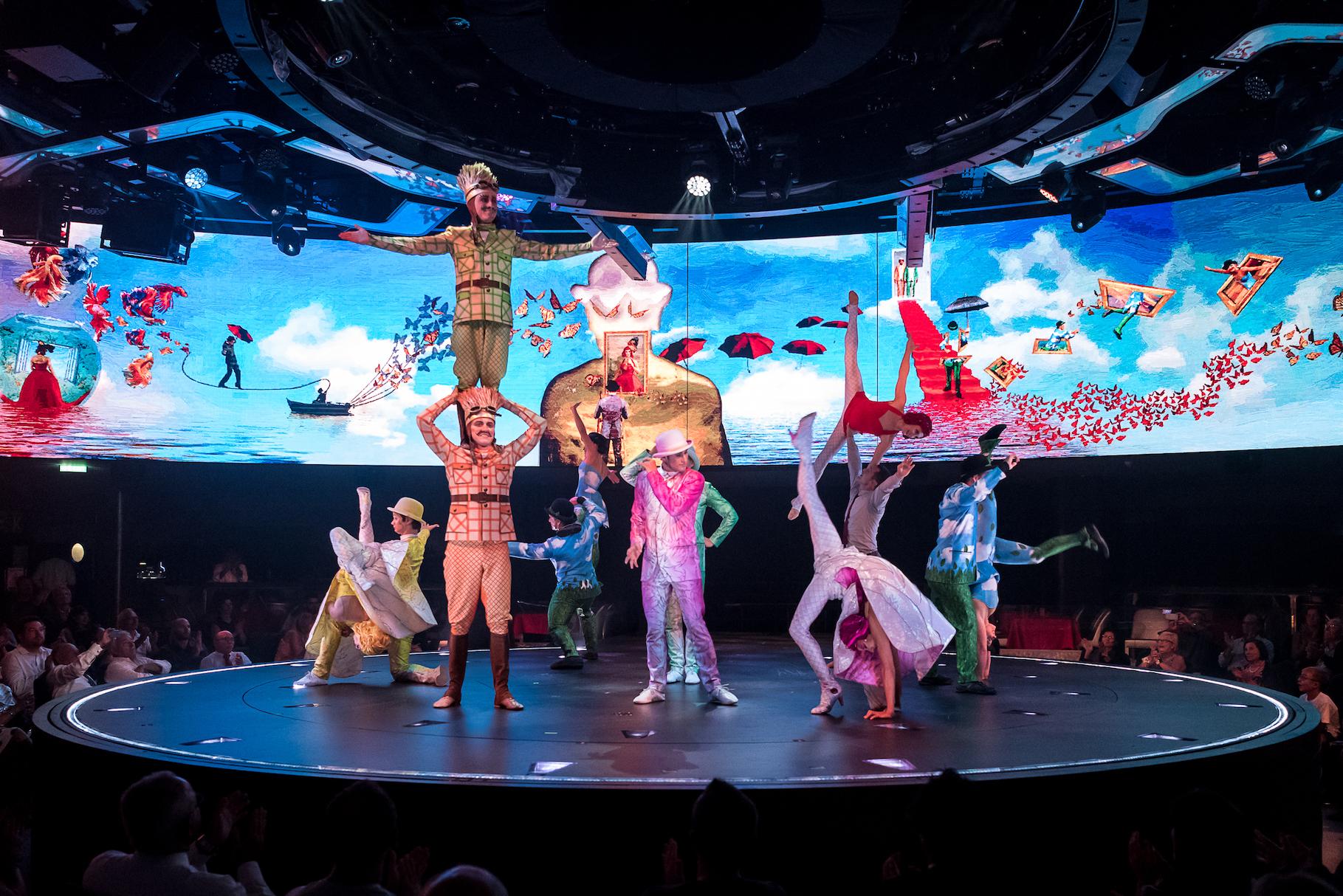 MSC Bellissimo, cirque du soleil at sea, cruise