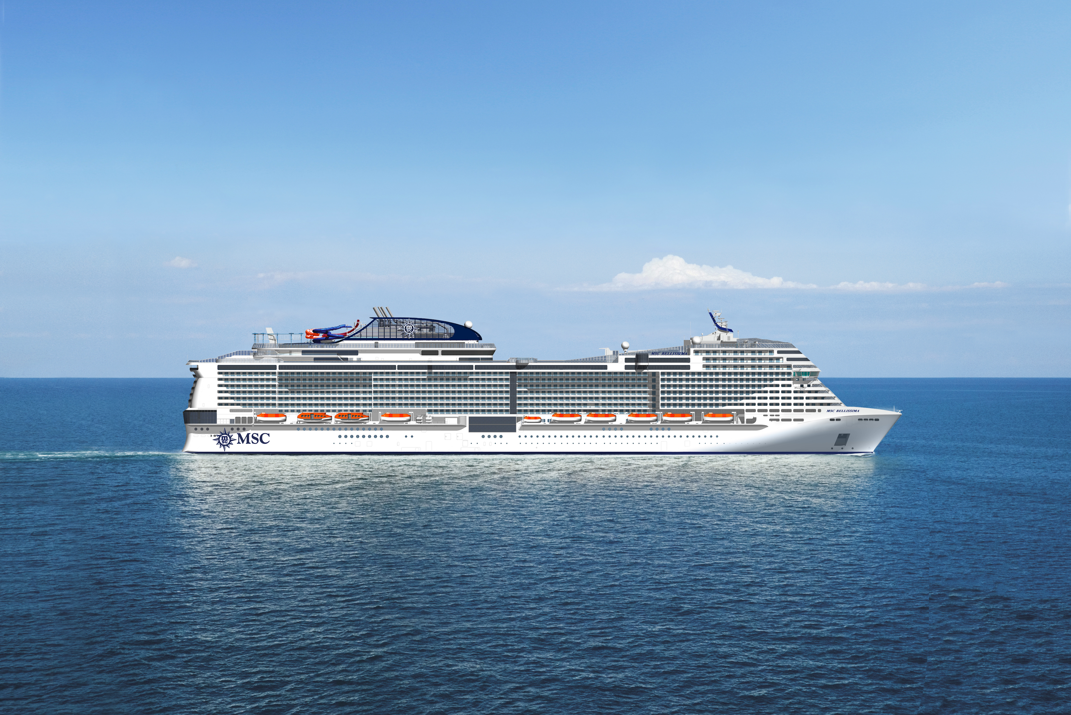Msc Cruises Announces Msc Bellissima Will Be The Largest