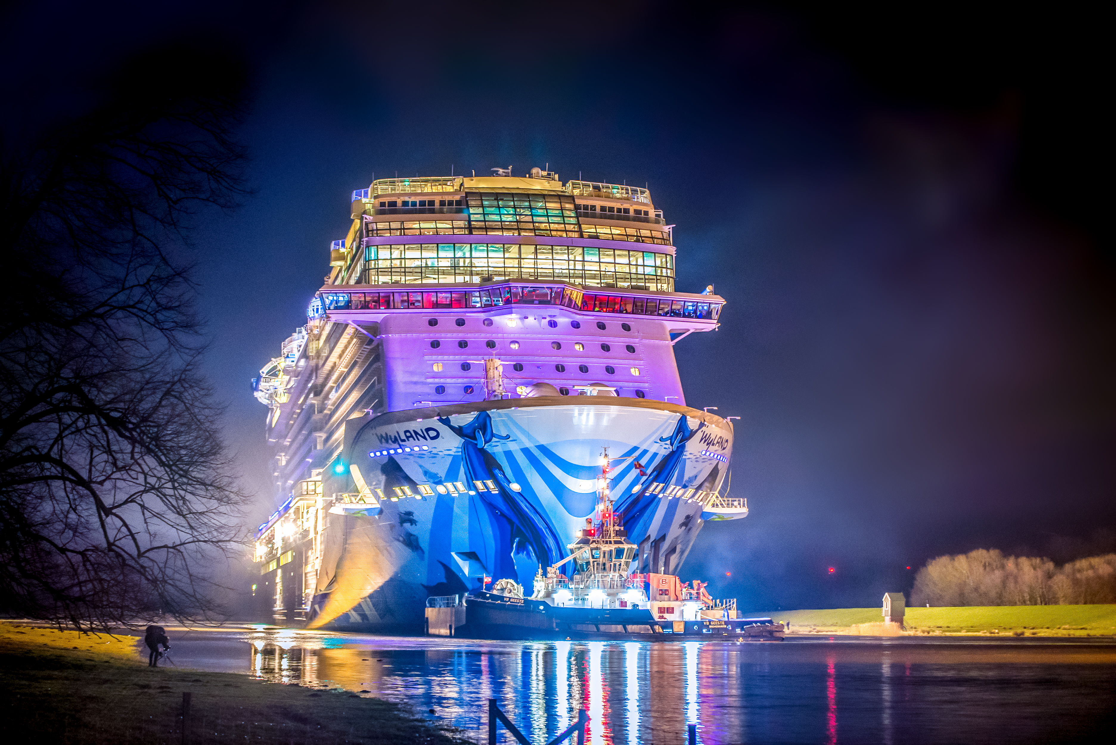 What Does It Mean When A Cruise Ship Completes Its