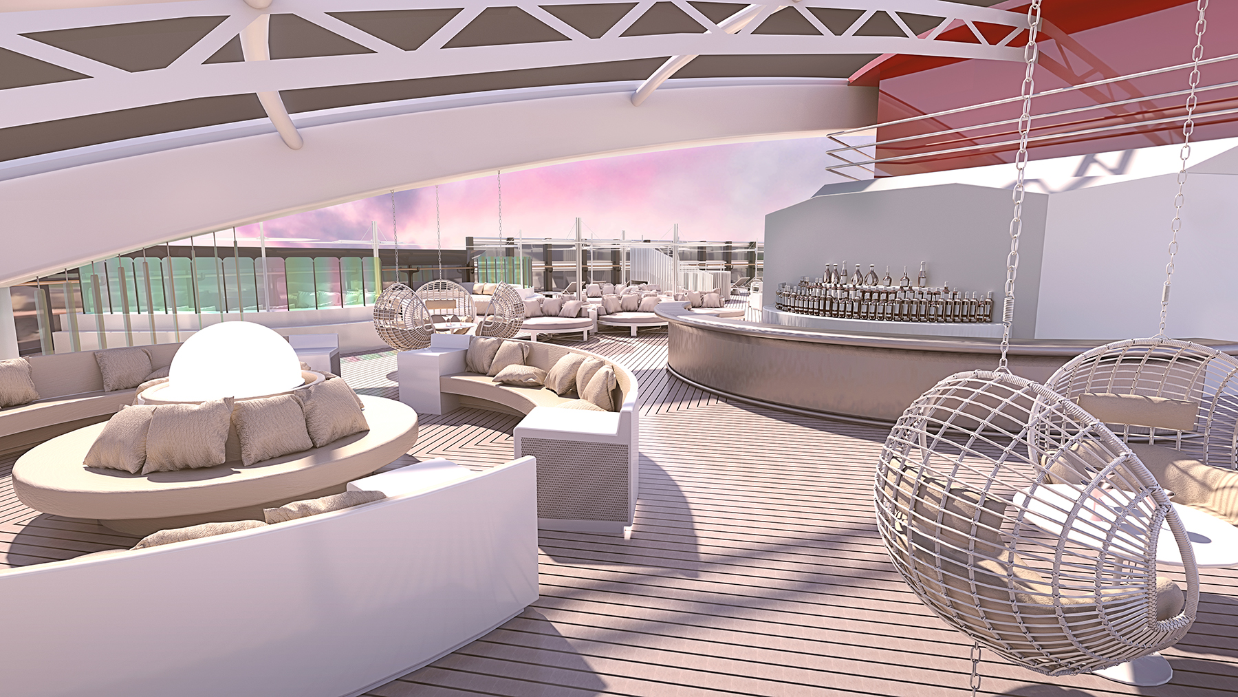 virgin voyages, Richard branson, ship, design