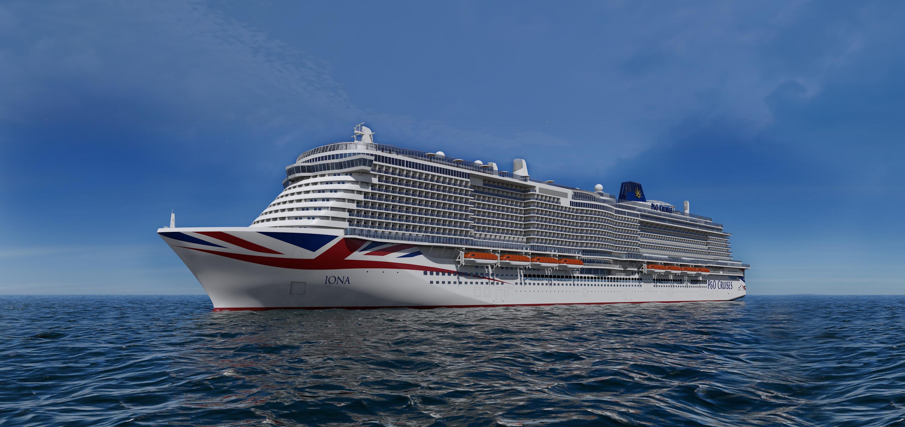 P Amp O Cruises Iona Welcome To The Pleasure Dome World Of
