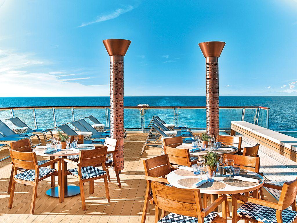 Viking Sea top deck