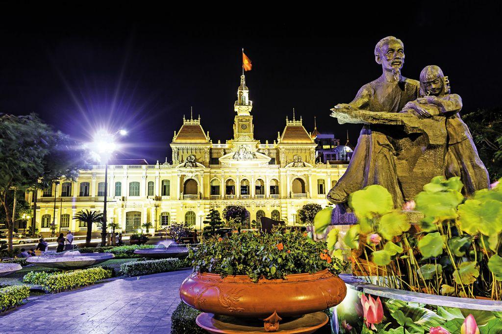 Ho Chi Minh memorial museum