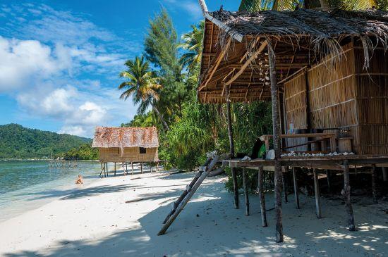 Raja Ampat islands beach, Papa New Guinea