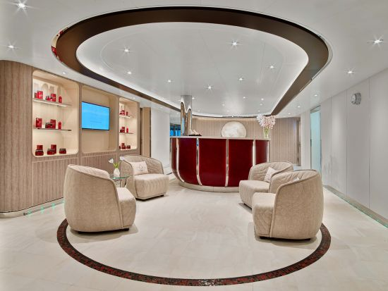 Seabourn, ovation spa