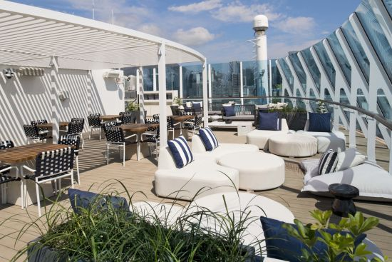 The Retreat Sun Deck - Deck 12 Forward Celebrity Millennium, Celebrity Cruises