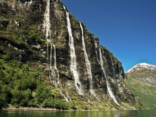 Seven Sisters Waterfall, Geiranger