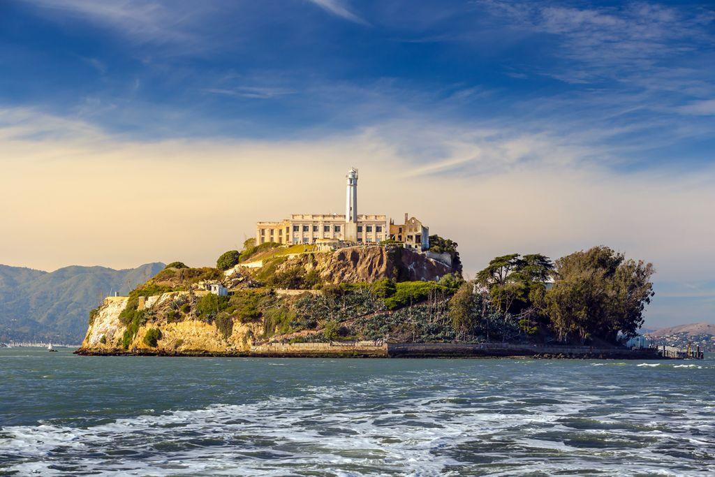 Alcatraz Island, just a 15-minute ferry ride
