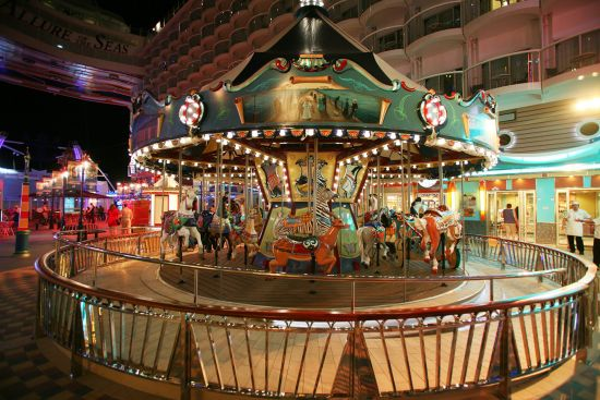 Royal Caribbean International's Allure of the Seas carousel