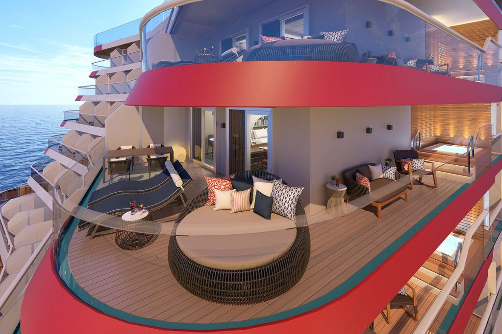 Carnival Cruises Mardi Gras Excel Suite Balcony