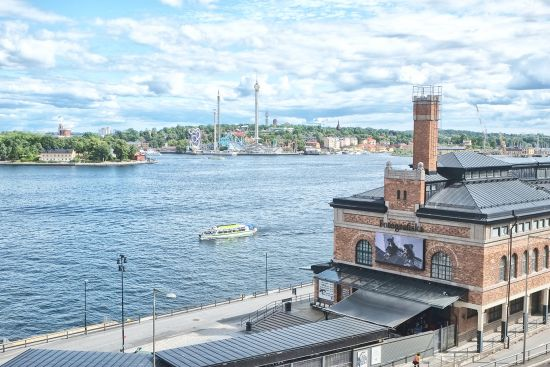 Fotografiska, centre for contemporary photography in the Södermalm district of Stockholm, Sweden