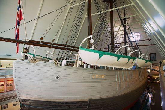 Polar Ship Fram at the Fram Museum