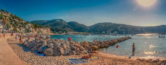 Beach in Majorca, Spain
