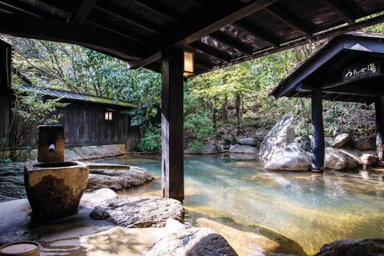 The beautifully tranquil Oden Spa