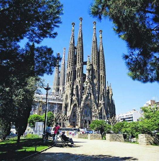 Gaudi's Sagrada Familia, Barcelona