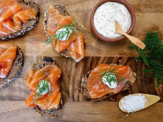 Gravlax, a Nordic speciality