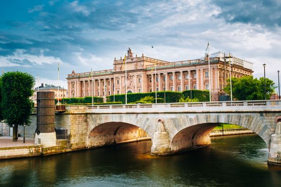 Parliament of Sweden in Stockholm