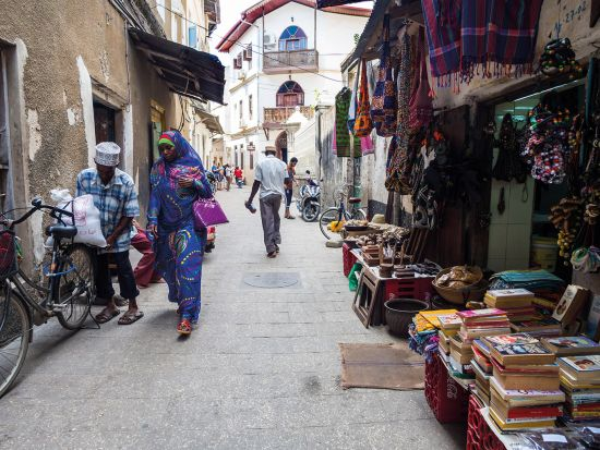 Wander down the historic alleyways of Stone Town, Zanzibar