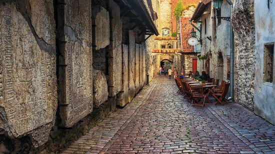 Medieval Tallinn Old Town