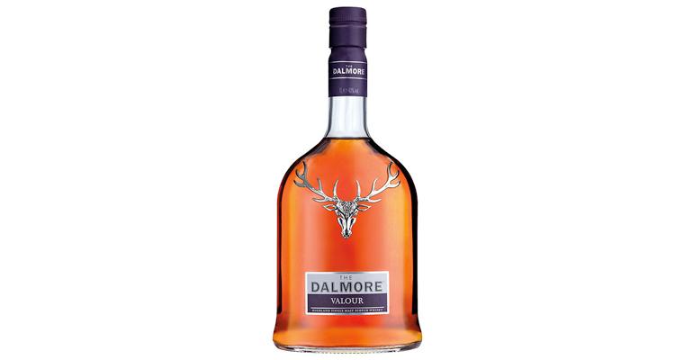 Cunard Dalmore Valour single malt bottle