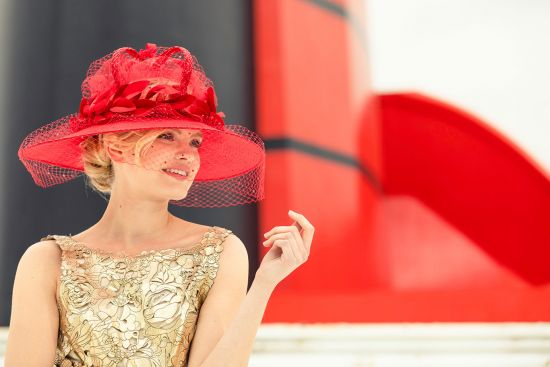 Stephen Jones and Cunard partner on millinery masterpiece