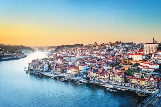 Douro river and Porto city, Shearings and A-Rosa river cruise