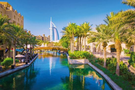 Dubai's famous Burj-Al-Arab