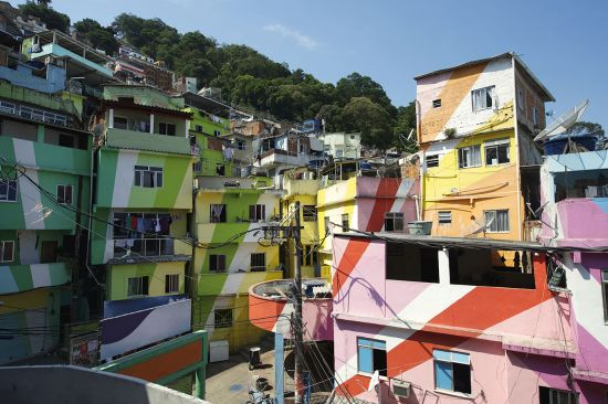 Rio's Favela neighbourhood is worth a visit