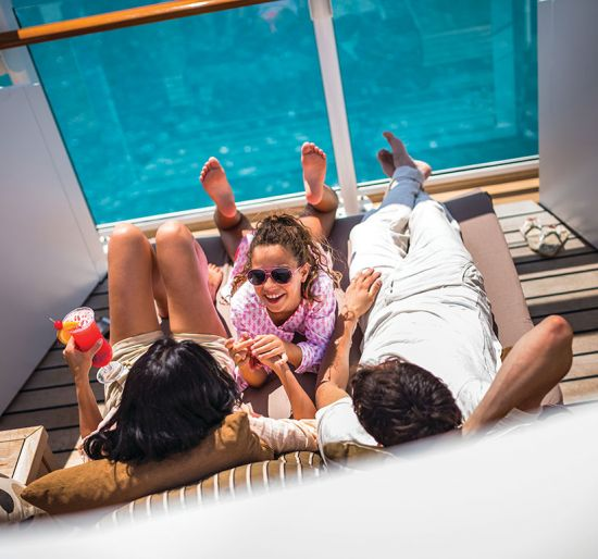 Family Cabana, Norwegian Cruise Line
