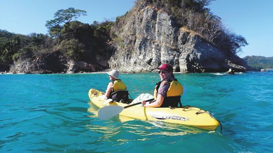 Cruise ship reviews: Kayaking from Safari Voyager