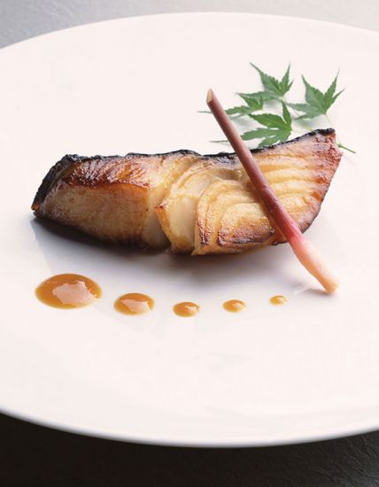 Nobu's black cod served on board Crystal Cruises as part of cruise meal deal