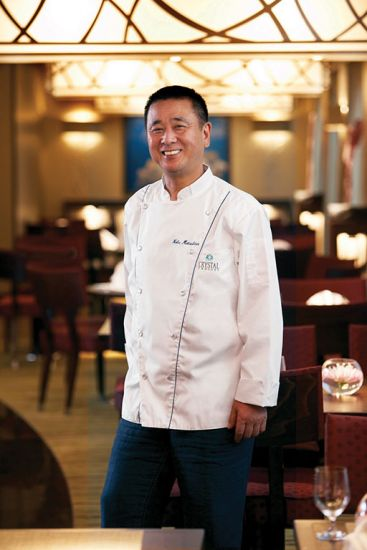 Nobuyuki Matsuhisa partners with Crystal cruises for summer cruise