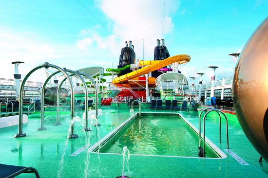 Norwegian Epic's Aqua Park