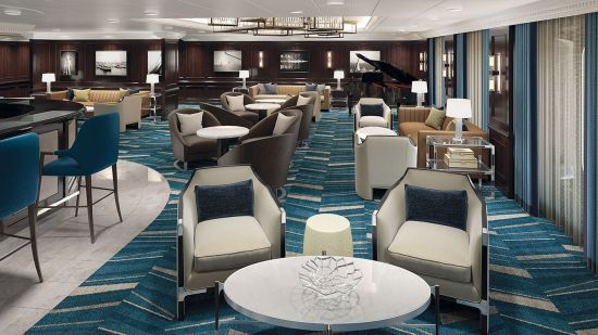 Oceania Cruises luxury boutique martini lounge