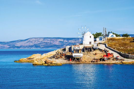 Koufonisia Greek island is one of Victoria Hislop's favourite destinations