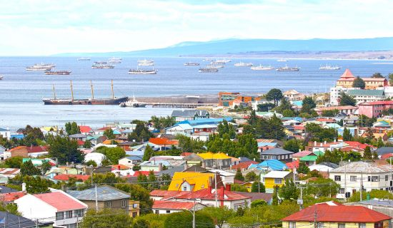 View of Punta Arenas, Chile