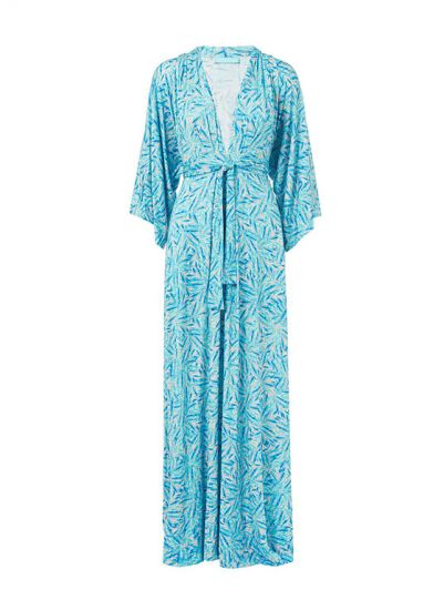Melissa Odabash blue maxi dress