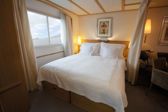 Luxury cabin aboard Seadream I