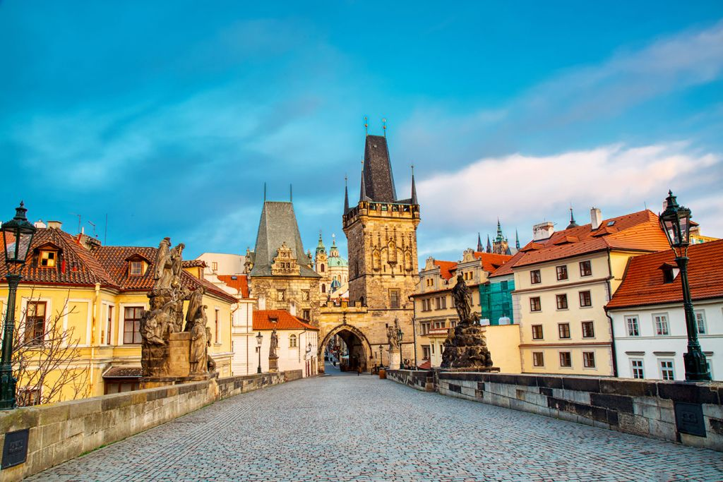Charles Bridge on Prague city guide