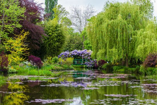 Monet's garden in Giverny, one of the world's most inspiring gardens
