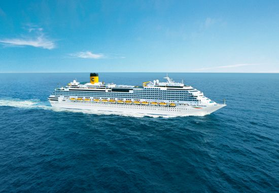 Costa Cruises wellness excursion onboard Costa Fascinosa