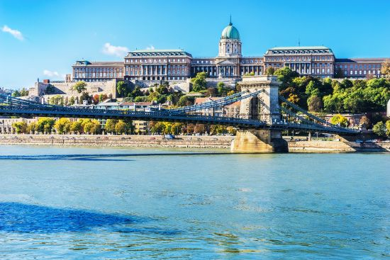 Budapest Buda Castle, Danube river cruise, Crystal river cruises