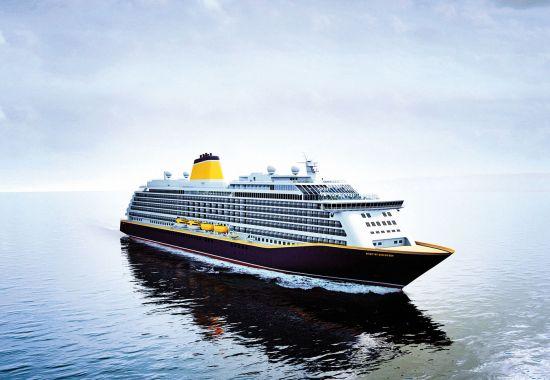 Saga's Spirit of Discovery cruise ship