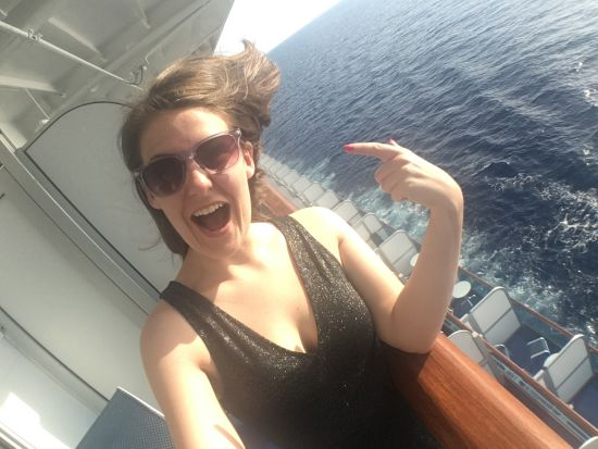 Emma Le Teace aboard Golden Princess proves cruises are ideal for millenials
