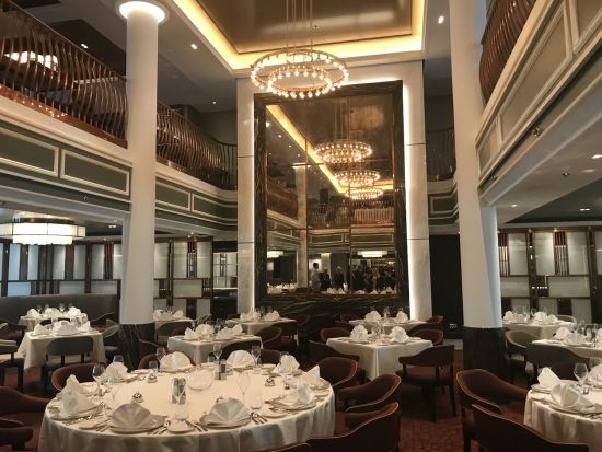 Saga Spirit of Discovery grand dining room