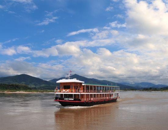 Cruise to Laos: Kuang Si Falls