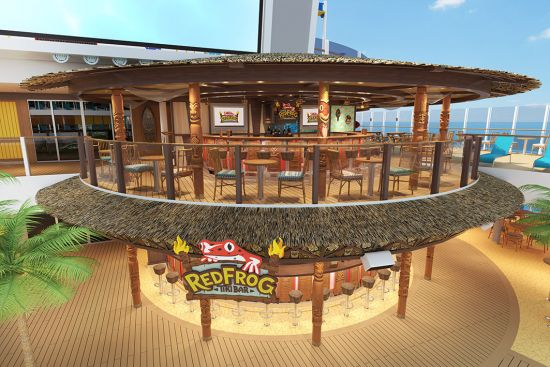 RedFrog Tiki Bar, Food & Drink, Carnival Cruises Mardi Gras