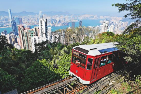 Cruise to Hong Kong: Hong Kong tram