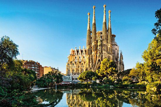 Euro city cruise: Sagrada Familia in Barcelona