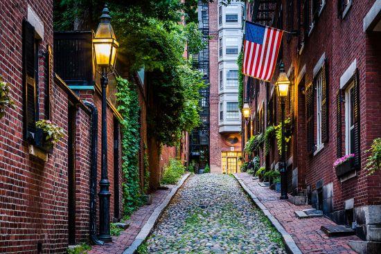 Streets of Boston, US cruise